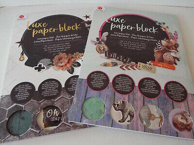 Motivpapier Block Basteln Papier Vellum Sticker Die Cut Design Karton Cardstock