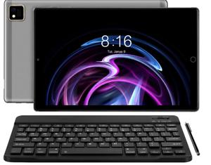YOTOPT Tablet 10 Zoll Android 10.0 mit Tastatur und Maus, Octa-Core, 64 GB ROM