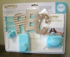 Gift Bag or Frame Pinwheel Alphabet We R Memory Keepers Punch Board