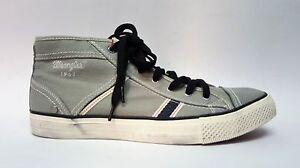 Chaussures De Canvas Hautes Starry Gris Mid Avec Tennis Lacets 161033 Wrangler ICwn7A1qI