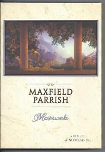 Maxfiled Parrish Masterworks Folio Of Notecards Daybreak Garden Of Allah