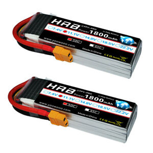 2pcs-HRB-3S-11-1V-1800mAh-RC-Lipo-Battery-50C-100C-For-Drone-Helicopter-Car-Boat