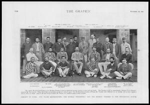1893-Antique-Print-INDIA-MUMBAI-BOMBAY-Cricket-Presidents-Match-Parsees-74