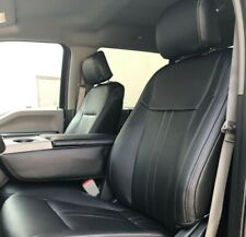 2015 20 Ford F 150 Xlt Supercrew Black Leather Seat Covers Lariat Factory Style Fits Ford F 150