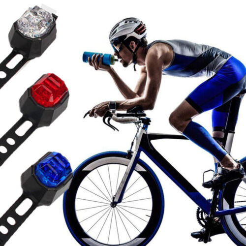 Mini LED Waterproof Smart Bicycle Light USB Rechargeable Rear Lights ZPL
