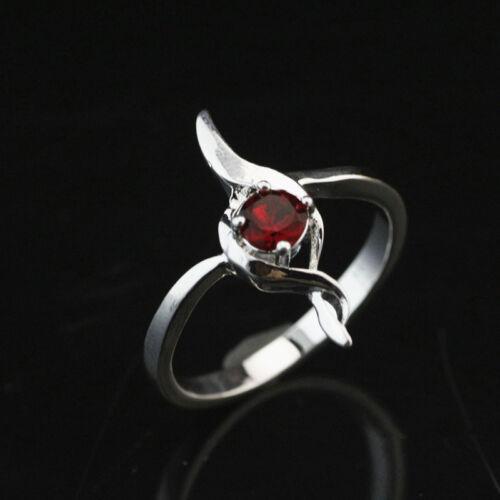 925 solide Argent sterling plaqué femmes//hommes New Fashion Ring Cadeau Taille 8 HR487