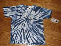 New Boys UConn Huskies Tie Dye S/S T-Shirt Youth Size M 10-12 Shirt Connecticut