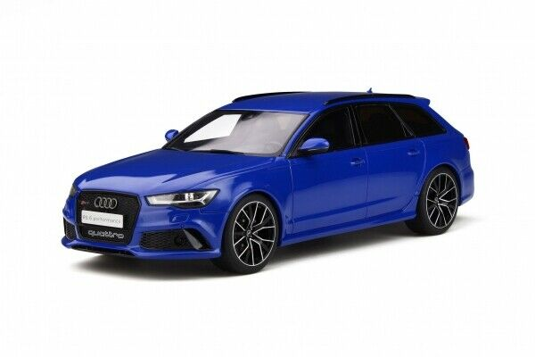 Gt Spirit 719 audi rs6 c7 performance Nogaro Edition 2018 blu 1 18 - Limited...