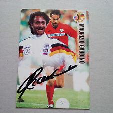 MAURIZIO GAUDINO DFB signed PANINI-Sammelbild WM 94 signiert Autogramm