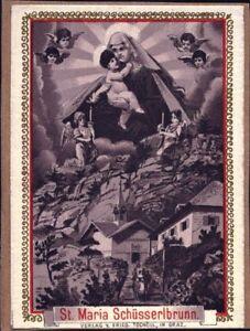 Maria Schüsserlbrunn Pelerinage Icône Mémoire Tschöll Autriche (b-5854-afficher Le Titre D'origine Excellente Qualité