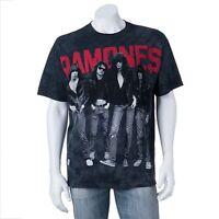 The Ramones Group Photo Black T-shirt Licensed Size Large & Medium