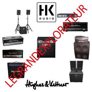 ultimate hk audio hughes kettner user repair service manuals rh ebay com