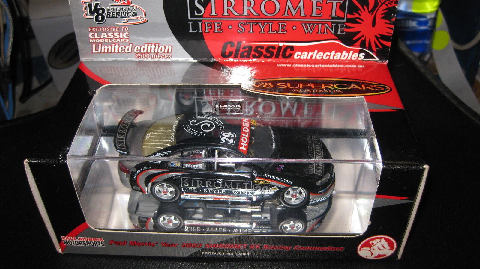 CLASSIC 1.43 2002 HOLDEN HOLDEN HOLDEN VX COMMODORE PAUL MORRIS SORROMET 29 V8 SUPERCAR 1029-1 318b83