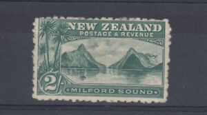 New-Zealand-1898-2-Grey-Green-SG258-MH-J4988