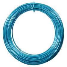Anodized Aluminum Wire 12 Gauge 39 Feet Turquoise 41272 Round Soft Temper Shiny