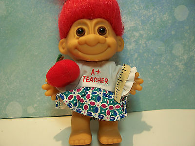 "US MARINE Red Hair 5/"" Russ Troll Doll NEW IN ORIGINAL WRAPPER"