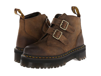 Dr. Martens DEVON Women's Aggy Style Aztec Darkened Brown Boot ALL SIZES!!!
