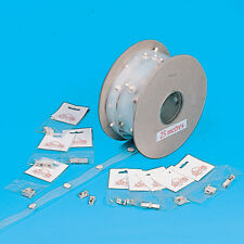 SWISH CURTAIN VISA POPPER TAPE PER METRE, CAMPER, NARROW BOAT, MOTORHOME