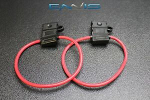 8 Gauge ATC Fuse Holder In-line Wire 12 volt Power Blade 1