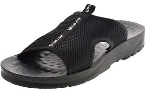 5632b59a817 Image is loading Aerosoft-Black-Comfortable-Footwear-Sandals-A-5103