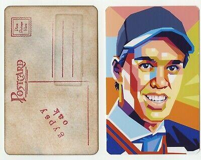 #0059 Connor Mcdavid Handmade Gypsy Oak Arcade Postcard Rare Buenos CompañEros Para NiñOs Y Adultos