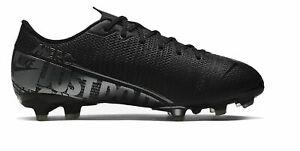 Nike-Enfants-Chaussures-De-Foot-cames-Chaussures-JR-Vapor-13-Academy-FG-MG-noir-gris
