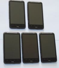 Lot of 5 HTC Inspire 4G - 4GB - Black (AT&T) Android GSM 4G Smartphone