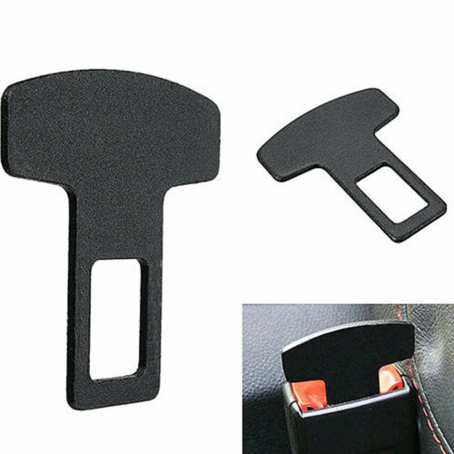 Universal Safety Seat Belt Buckle Alarm Stopper Eliminator Clip Car Accessory