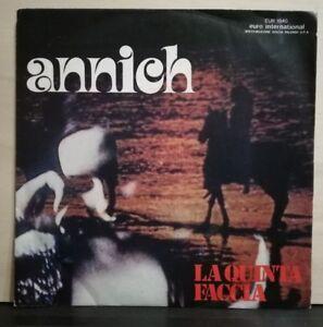 LA-QUINTA-FACCIA-ANNICK-PRONTO-AMORE-45-giri-vinile-NUOVO-1975
