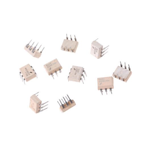 C/_W 10 STÜCKE Optoisolatoren Transistorausgang DIP