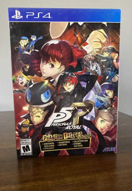 Persona 5 Royal: Phantom Thieves Edition (PlayStation 4, 2020) Ps4 New