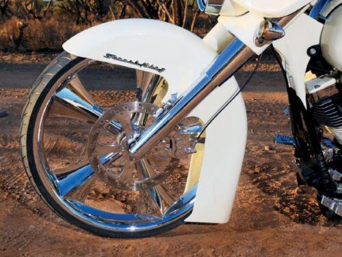 """/""""STREET KING/"""" Fender//Saddlebag Emblems Harley Yamaha Kawasaki Honda Suzuki"""