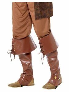 Details zu Smiffy 40197 Stiefelüberzieher Schuh Stulpen Bootcovers Karneval Kostüm Zubehör
