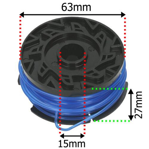Strimmer Line /& Cover for BLACK /& DECKER ST4525 ST6600 ST7200 ST7700