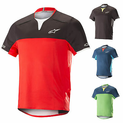 Imparziale 1766718 Alpinestars Mens Drop Pro Ss Jersey T-shirt Downhill Mountain Bike Trail