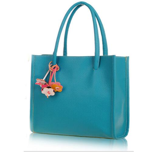 Vincenza Designer Large Womens Faux Leather Style Summer Tote Shoulder Grab Bag