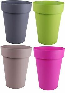 Image Is Loading Large Plant Pots Mive 40 Litre 50cm Tall