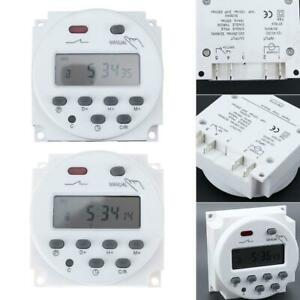 Digital LCD Display Power Timer Weekly 7Days Programmable Home Time Relay Switch