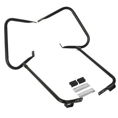 Satteltaschen Schutzbügel für Harley Davidson Road King 97-08 chrom