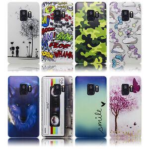 Samsung-Galaxy-S9-Huelle-Silikon-Smartphone-Handy-Huelle-Schutz-Huelle-Case-Cover