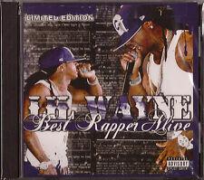 LIL WAYNE *Best Rapper Alive* Limited Edition CD 2006 NEW Sealed CASH MONEY