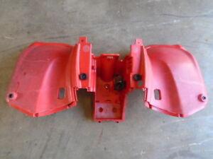 K110-Rear-Fender-Plastic-Red-Arctic-Cat-250-Utility-2wd-2006-2009