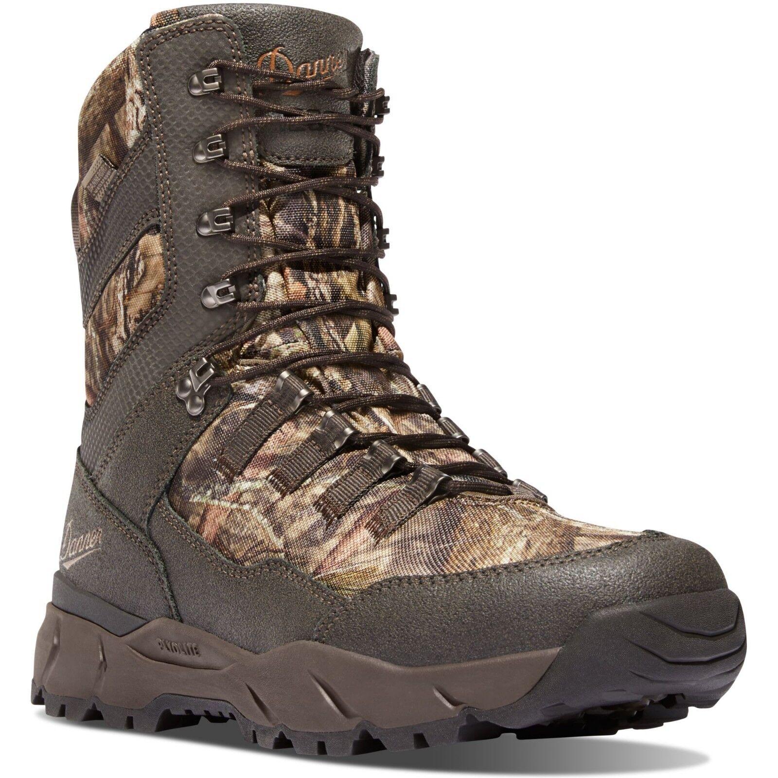 Danner para hombres 41555 8  vital Mossy Oak Camo 1200G Aislado botas de caza