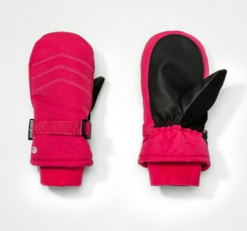 Girls C9 Champion Waterproof Winter Ski Mittens Pink Select Size 3131