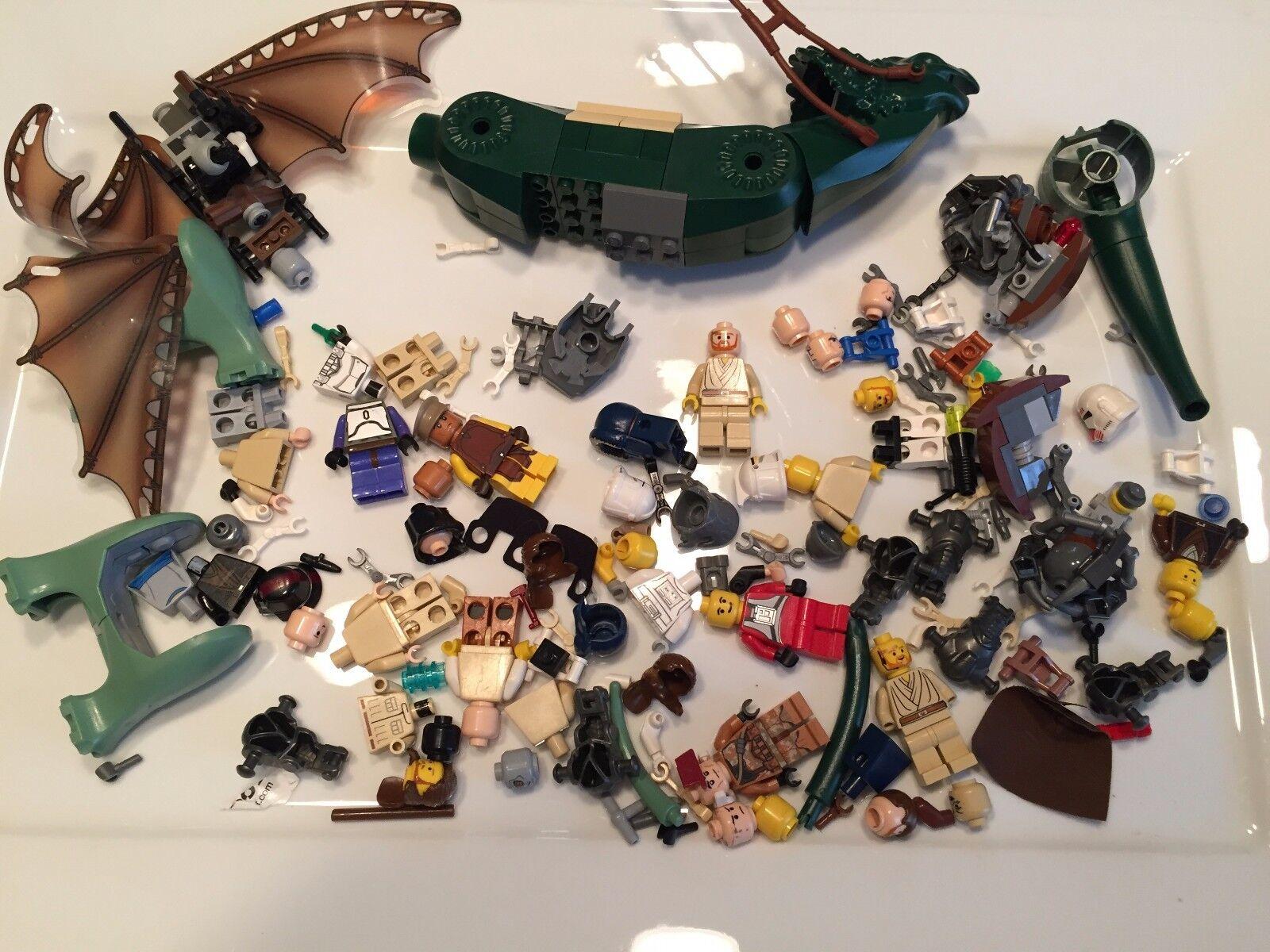 8 Ounces Lego Star Wars Minifig parts Boga 1/2 Pound minifigures Lot W338