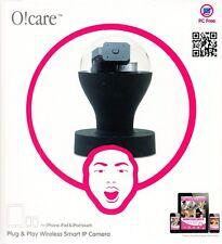 Ozaki O!Care Wireless Drahtlose IP Kamera Schwarz für iPad/iPhone/iPod Touch NEU