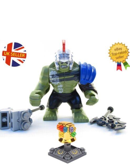 Hulk Figure Lego Fit Avengers End Game Marvel Infinity War Ragnarok  UK Seller
