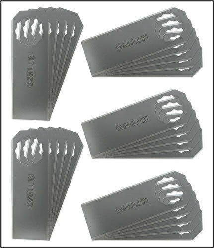 Oshlun MMS-4025 Universal Sealant Cutter for Fein SuperCut - 25 Pack