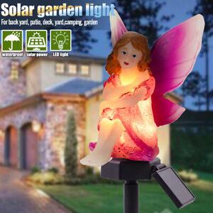 Solare-LED-Giardino-Luci-Prato-Fiore-Ornamento-Esterno-Impermeabile-Novita-Luce