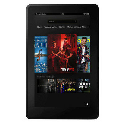 Amazon Kindle Fire 2nd Generation 8GB, Wi-Fi, 7in - Black Very Good Condition